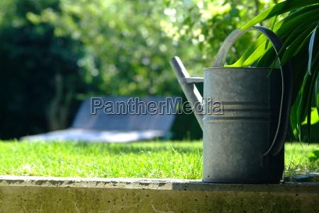 metal, watering, can - 1369155