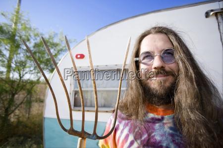 man, with, a, pitchfork - 1371205