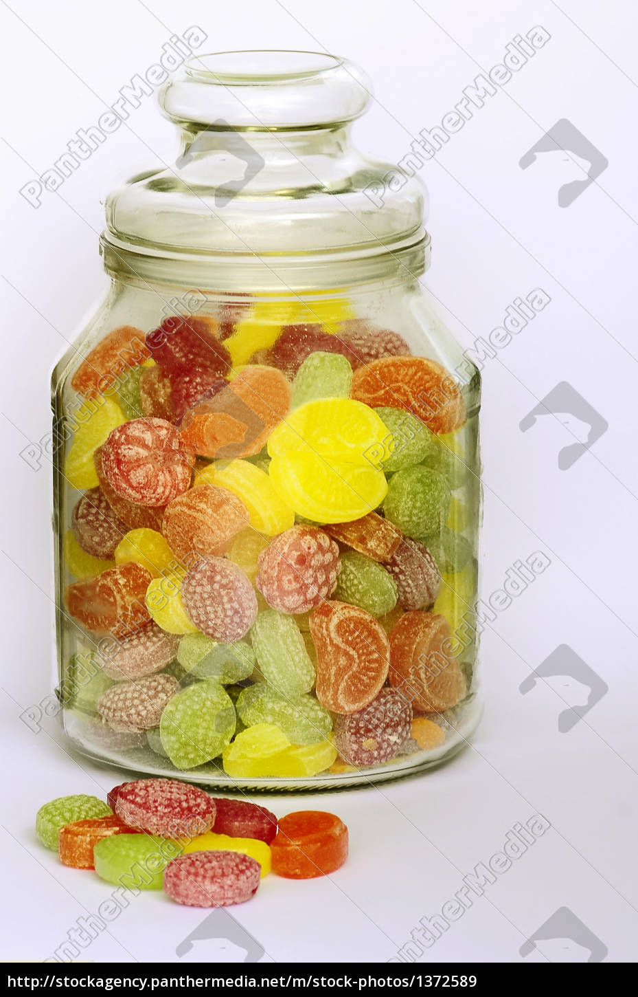 a, glass, of, fruit, candies - 1372589