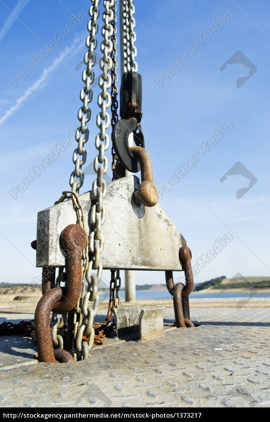 industrial, chain, hook, heavy, hard, crane - 1373217