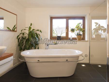 bad, modern, freestanding, tub - 1374067