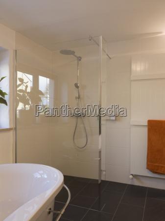 bathroom, modern, designer, shower - 1374085