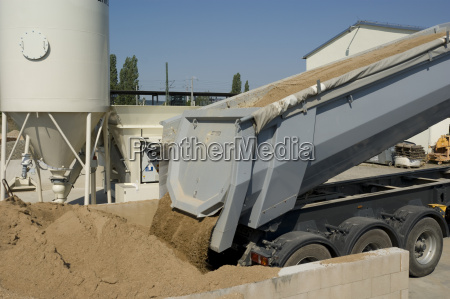 delivery, of, gravel, truck, neutral - 1374191