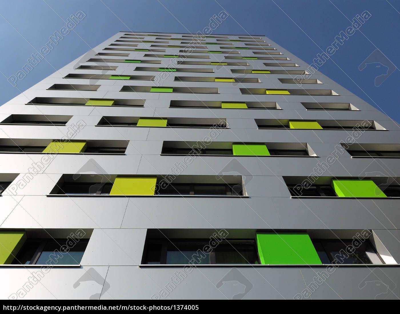 facade, skyscraper, silver, metallic - 1374005