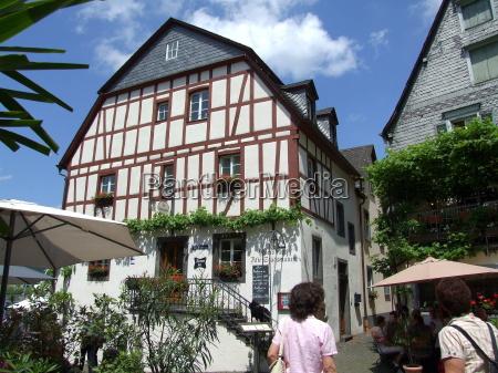 half timbered house in beilstein