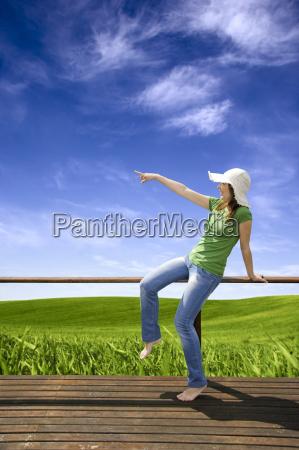 woman, holiday, vacation, holidays, vacations, freedom - 1387421