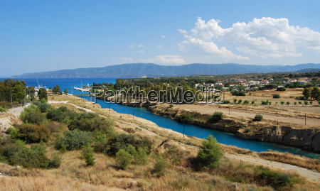 view of the corinth canal