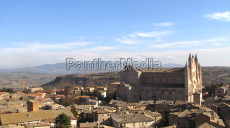 orvieto-, overlooking, cathedral, and, surrounding, areas - 1407063