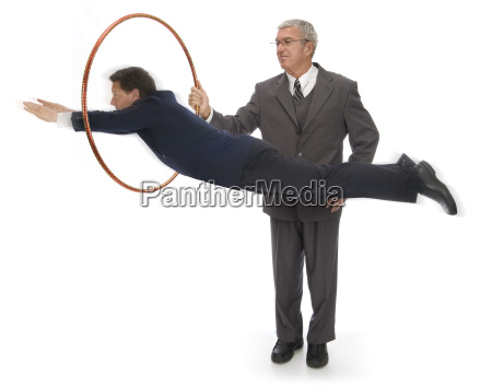 jumping through hoops
