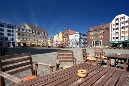 old market in stralsund