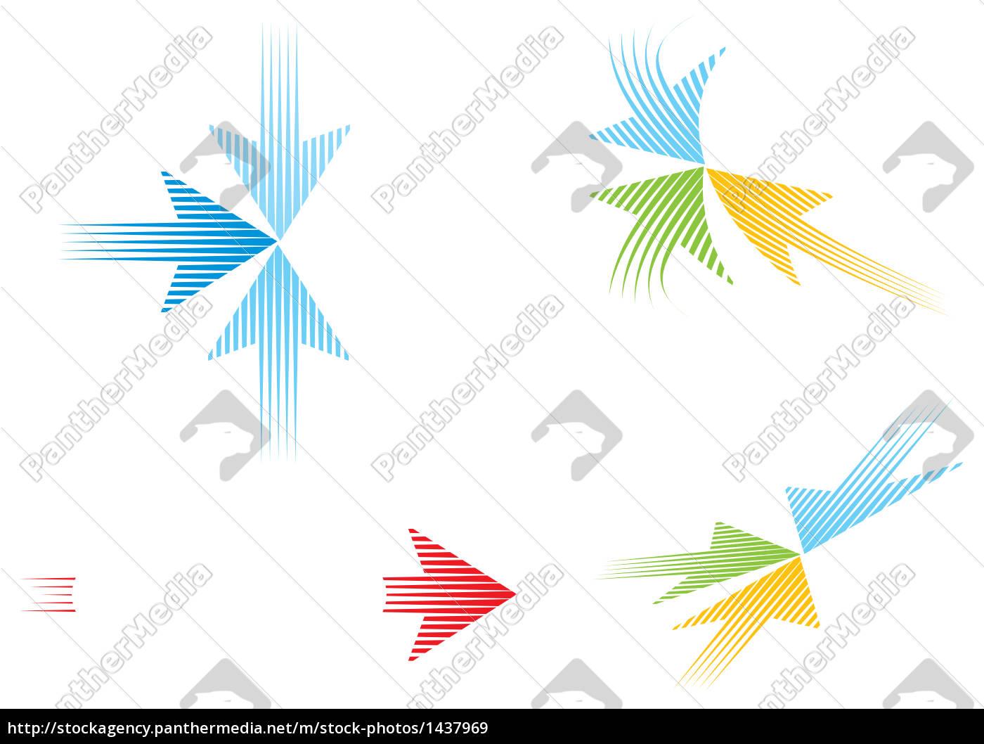 logo, templates, with, arrows - 1437969
