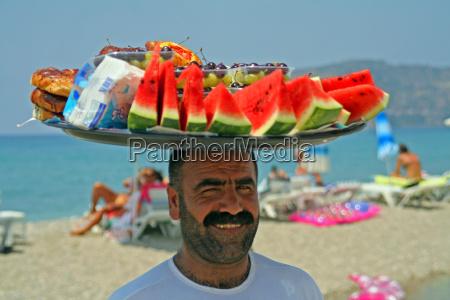 portrait fruit sellers turkey