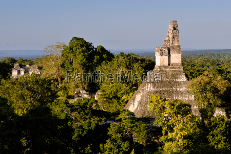 mayan ruins of tikal conditioning