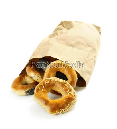 bread, bag, bakery, bakeshop, backery, grocery - 1456515