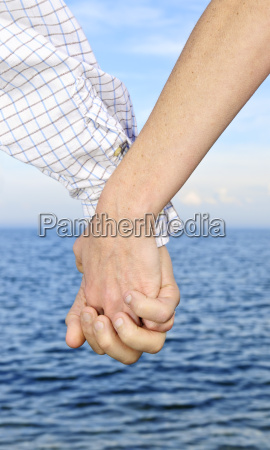 couple, holding, hands - 1456425