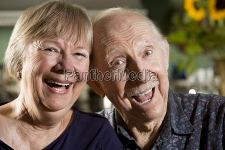portrait, of, senior, couple - 1457017