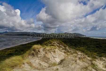 gigantic sand dune