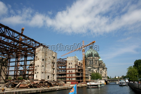 demolition of the palace of the