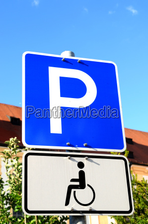 handicapped, parking - 1467089
