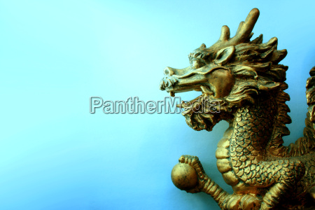 golden, dragon, feng, shui - 1469843