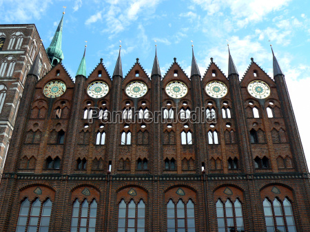 town hall in stralsund