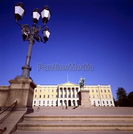 royal, palace, , oslo, , norway - 1476373