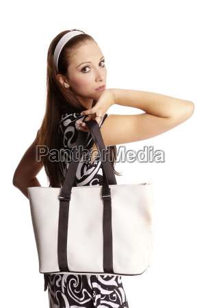 woman with bag