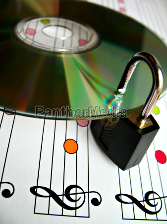 music piracy protection concept