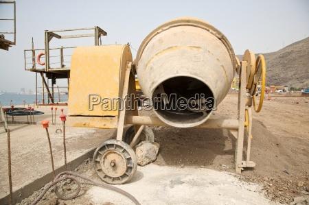 industria calcestruzzo cemento miscelatore mastice cementificare