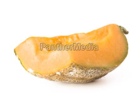 scheibe von einer melone