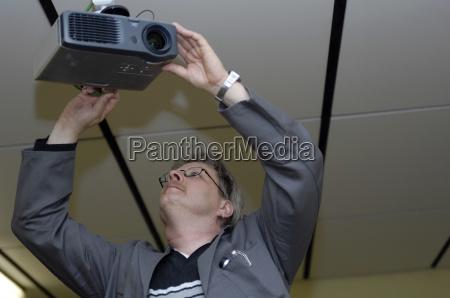 home technician hires a beamer