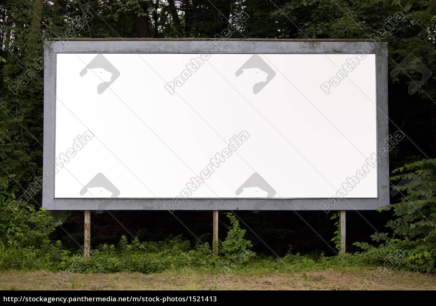 blank, billboard - 1521413