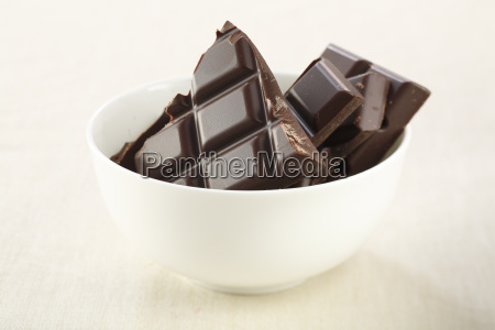 chocolate, in, bowl - 1528517