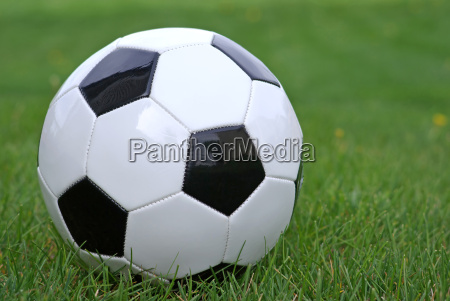 close up of soccer ball in