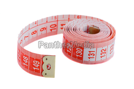 tape rolled with shallow depth of