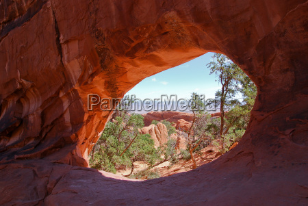 double o in arches national park