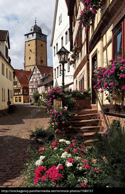 alley, in, lohr, am, main - 1580157