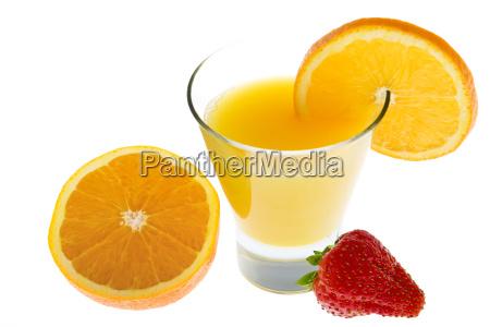 orange, juice, with, fresh, oranges, and - 1583493