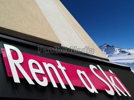rent a ski