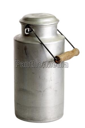 old milk jug