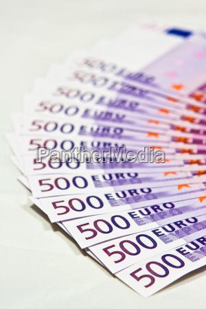 500, euro, bills - 1596977