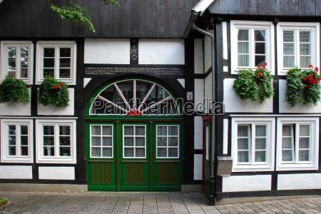 tudor, style, house, in, rietberg-westphalia - 1607417