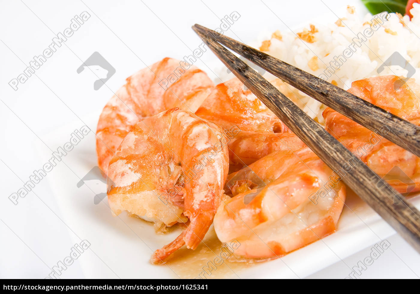 fried, prawns, with, rice - 1625341
