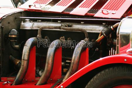 oldtimer engine block