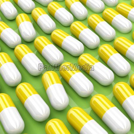 pills, 3d, background - 1639313