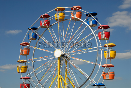 colorful ferris wheel