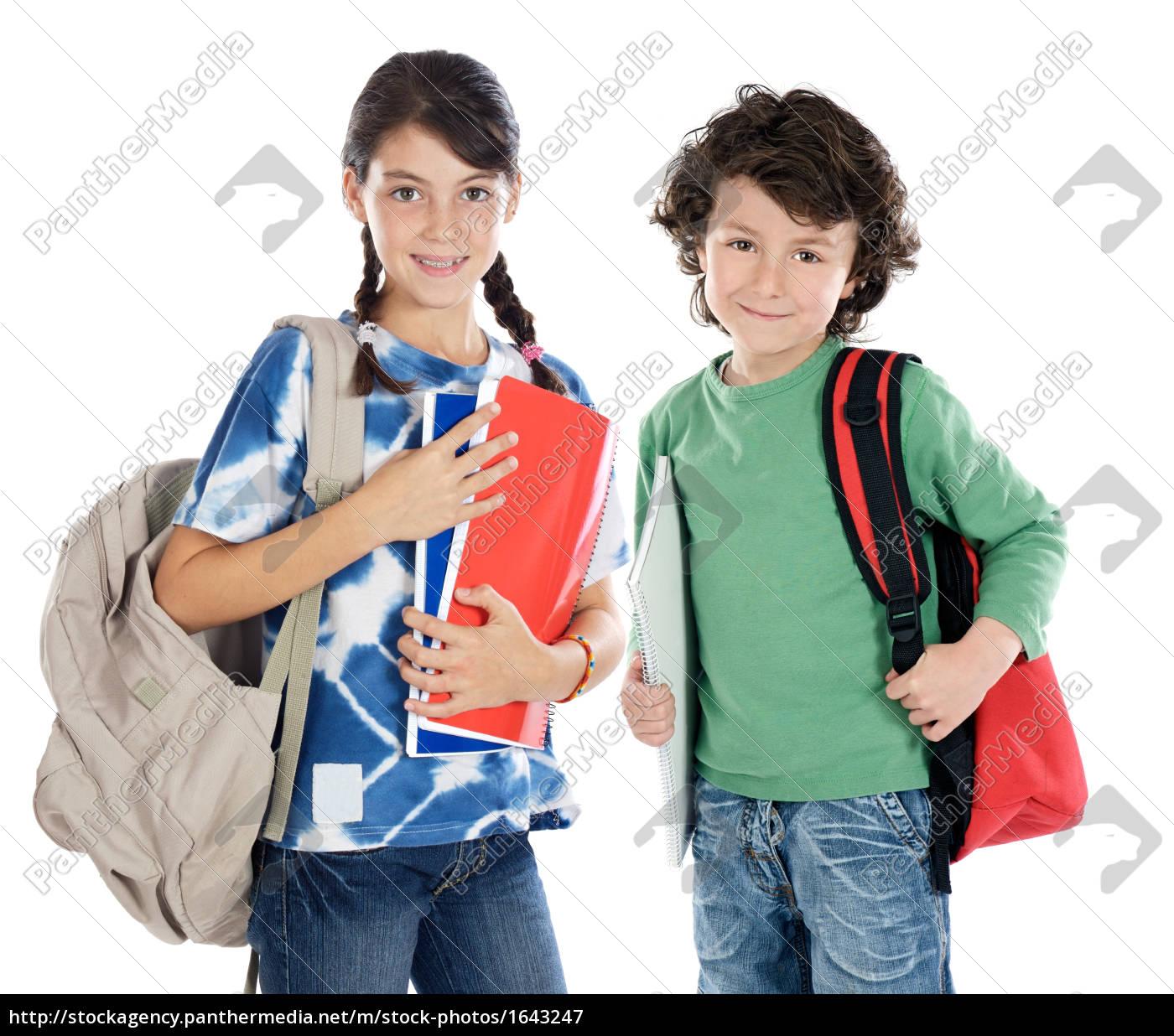 couple, of, children, students, - 1643247