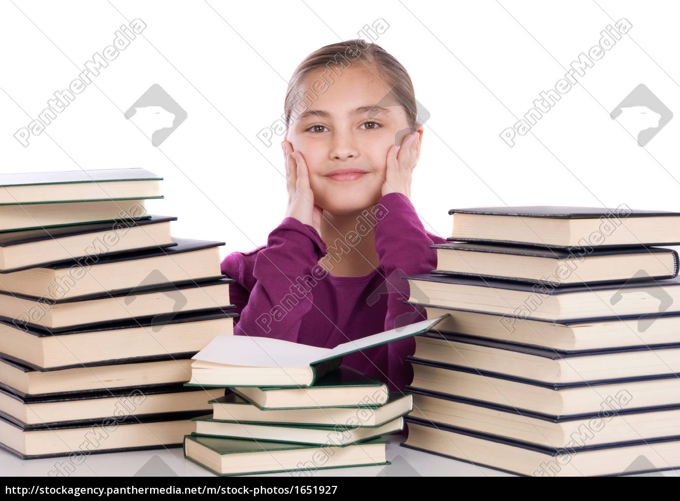 adorable, girl, with, many, books - 1651927
