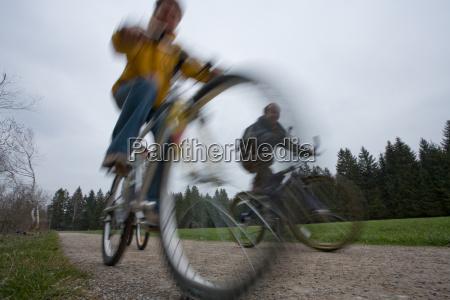 to go biking