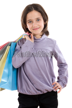 girl, with, shopping, with, bags - 1656575